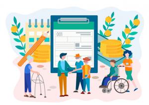 افراد مختلف تحت بیمه تامین اجتماعی