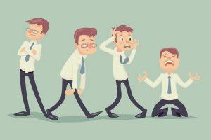 عدم مسئولیت پذیری کارمندان و استرس برای همکاران